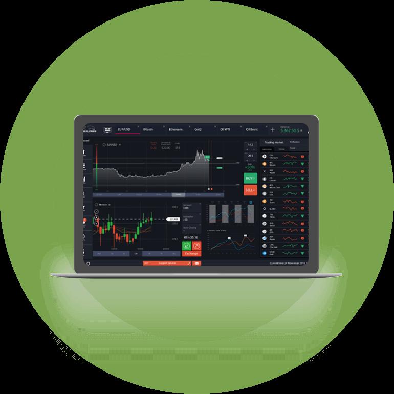počítačová obchodní platforma